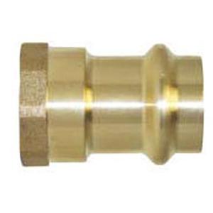 "1"" Press x Female Threaded Bevel Plain End Adapter"