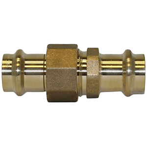 "1"" Brass Press Union"