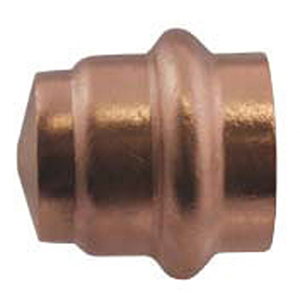 "½"" Copper Press Cap"