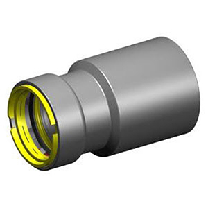 "1"" x ¾"" Fitting x Press Carbon Steel Reducer with HNBR Seal"