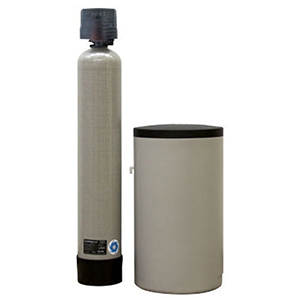 """CSI Water Treatment Systems 3/4"""" X 3/4"""", FPT X FPT, 120 VAC 60 Hz, 64000 Grains Capacity, 12 GPM Service Flow, 2.4 GPM Back Wash, Ion Exchange Resin, 2-tank, Standard, Water Softener"""