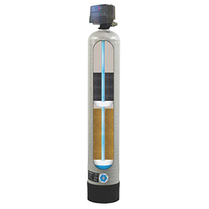 """CSI Water Treatment Systems 3/4"""" X 3/4"""", FPT X FPT, 120 VAC 60 Hz, 27000 Grains Capacity, 5 GPM Service Flow, 2.4 GPM Back Wash, Ion Exchange Resin, 1-tank, Metered, Water Softener"""