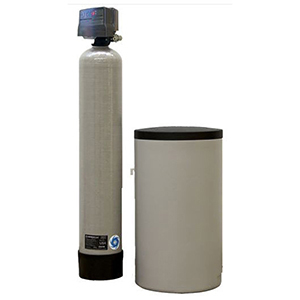 """CSI Water Treatment Systems 3/4"""" X 3/4"""", FPT X FPT, 120 VAC 60 Hz, 32000 Grains Capacity, 5 GPM Service Flow, 5 GPM Back Wash, Ion Exchange Resin, 1-tank, Metered, Water Softener"""