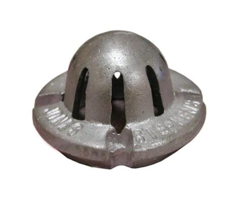 "Jones Stephens 3"" Aluminum Dome Strainer 1366"