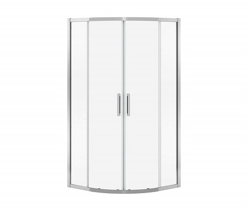 "Maax Radia Neo-Round Sliding Shower Door 36"" x 36"" x 71.5"" Mst Ch 2133550"