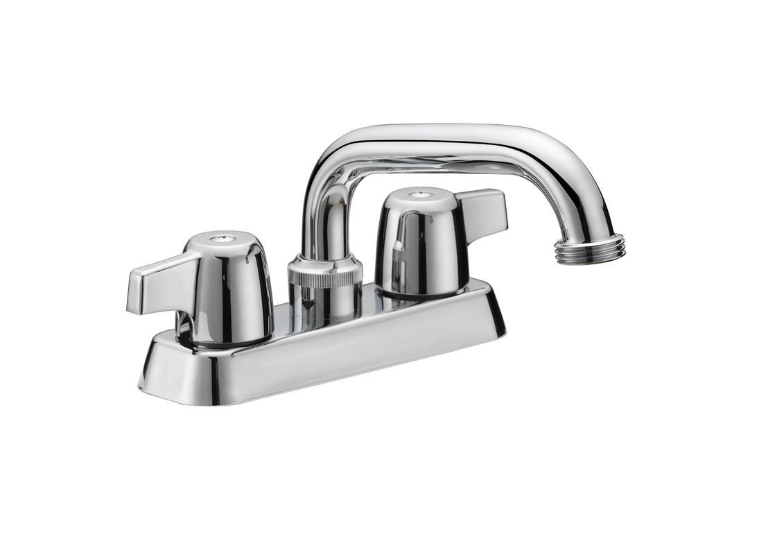 """4"""" Cp Br. Laundry Faucet.w/6""""sp"""