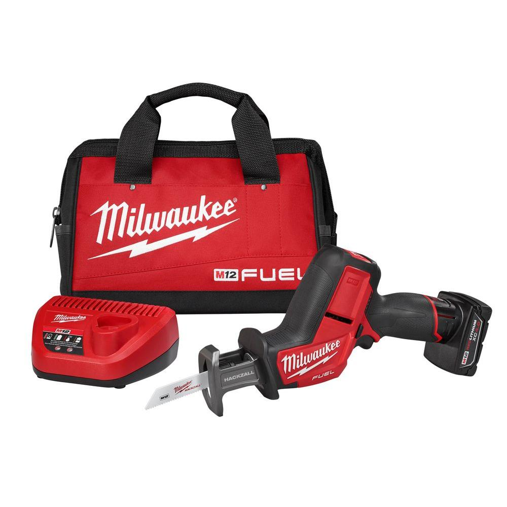 M12 Fuel™ 12V Fuel Hacksaw Sawzall Single Battery Kit
