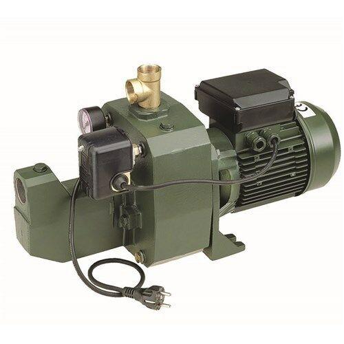 "1-1/4"" X 3/4"", NPT X NPT, 115/230 VAC 60 Hz 1-phase, 1/2 HP, 25 GPM , 3500 RPM, Shallow Well, Jet Pump"
