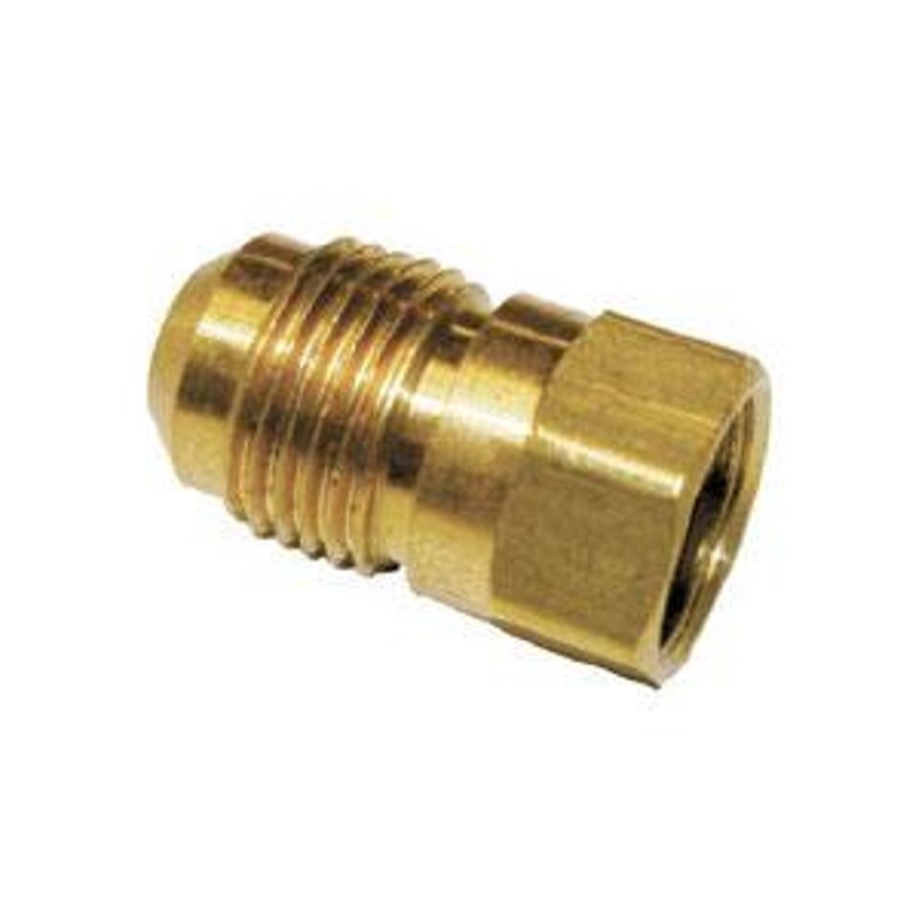 """3/8"""" Flare x FIP Brass Adapter without Nut"""