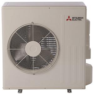 18000 BTU/Hr Cooling, 21600 BTU/Hr Heating, Single-Zone, Split, Heat Pump Outdoor Unit