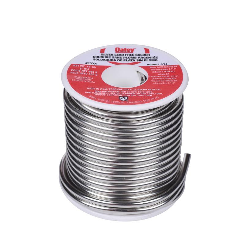 Oatey® 1 lb. Silver Lead Free Wire Solder 1321245