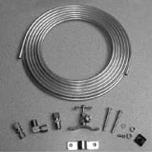 """Pasco Hook-up Kit With 1/4"""" X 25' Copper Tubing For Ice Maker 1491232"""