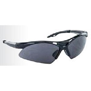 SAS Safety Safety Glasses Black Frame, Gray High Impact Polycarbonate Wrap Around Lens 2104431