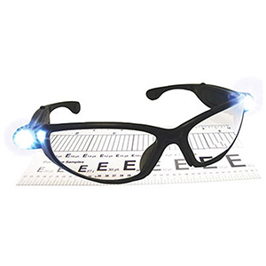 SAS Safety Safety Glasses 1.5X Diopter, Black Frame, Clear High Impact Polycarbonate Lens 2104435