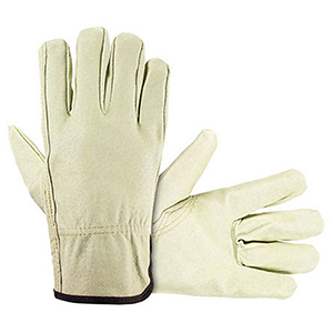 SAS Safety Driver Gloves X-large, Tan, Top Grain Pigskin, Leather, Straight Thumb 2104456