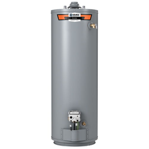Residential Natural Gas Water Heater, 40000 BTU/HR, 40 Gallon, 6 Year, Tall