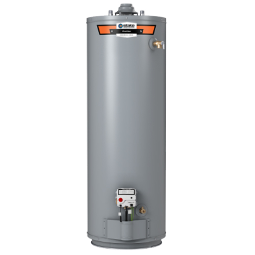 Residential Natural Gas Water Heater, 40000 BTU/HR, 50 Gallon, 6 Year, Tall