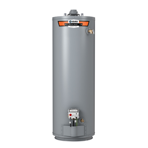 Residential Natural Gas Water Heater, 40000 BTU/HR, 50 Gallon, 8 Year, Tall