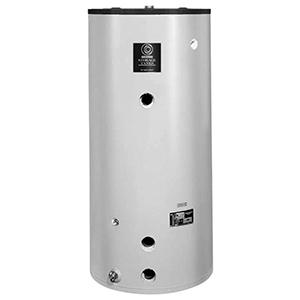 "State Water Heaters 29-3/8"" X 62"", 119 Gallon, 160 PSI, Baked Enamel Heavy Gauge Steel Jacket, Vertical, Standard Jacketed, Water Heater Storage Tank 53860"