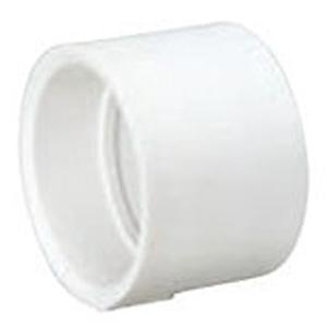 """3"""" Hub PVC DWV Straight Sanitary Coupling"""