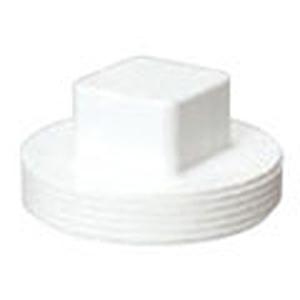 "4"" MPT PVC DWV Cleanout Sanitary Plug"