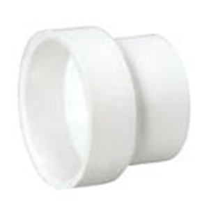 "3"" x 2"" Hub PVC DWV Reducing Sanitary Coupling"