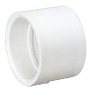 """8"""" Hub PVC DWV Straight Sanitary Coupling"""