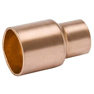 "¾"" x ½"" C x C 700 PSI Lead free WROT Copper Reducing Coupling"