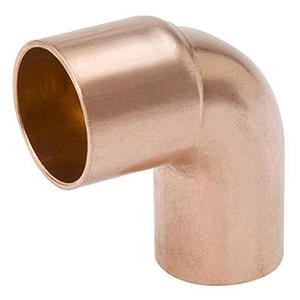 "½"" x ½"" FTG x C Lead free WROT Copper Short Radius Street Straight 90 Degree Elbow"
