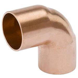 "4"" x 4"" C x C 700 PSI Lead free WROT Copper Short Radius Straight 90 Degree Elbow"