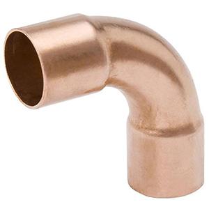 "¾"" C WROT Copper Long Radius  90 Degree Elbow Lead Free"