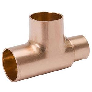 "3"" x 3"" x ¾"" C  Lead free Wrot Copper Reducing Tee"