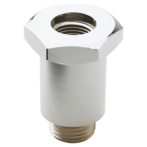 """3/4""""-14 TPI MPT X 3/8"""" FPT, Lead-free, Polished Chrome Plated Brass, Hex, Spring Body For B-0113-adf12-b Pre-rinse Unit"""