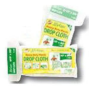 Drop Cloth 20' X 10', 1 Mil, Clear, Heavy Duty
